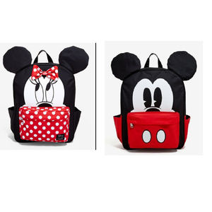 Mickey & Minnie Backpack Bundle New